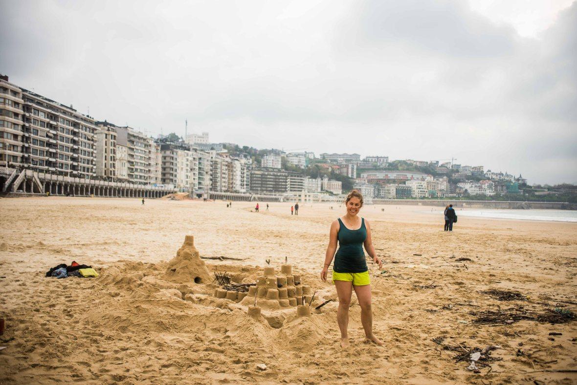 Sandcastles in San Sebastian-11