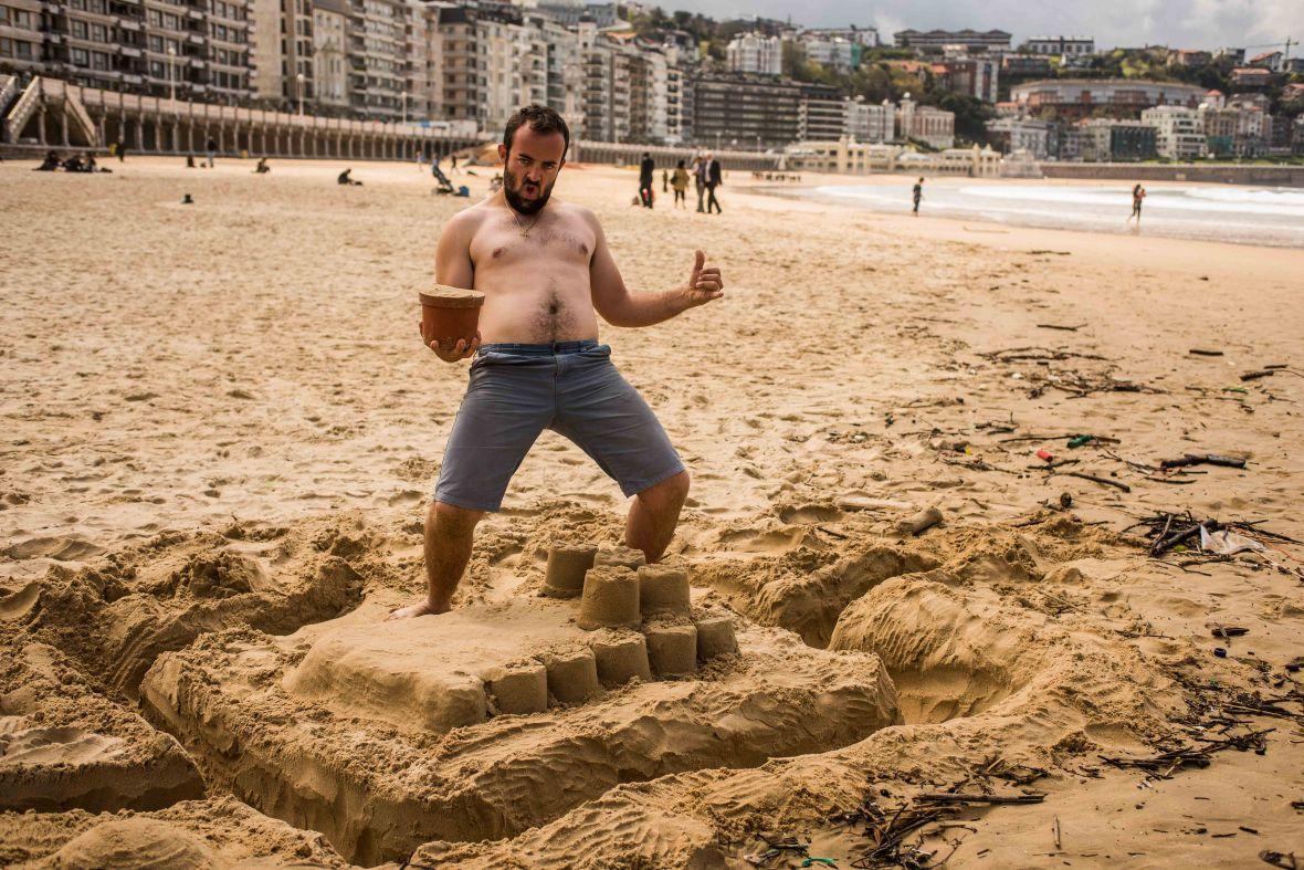 Sandcastles in San Sebastian-9